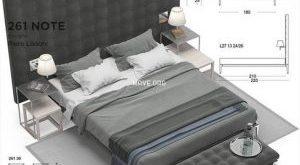 تحميل موديلات  255 Cassina L26 27 volage سرير bed