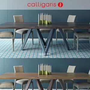 تحميل موديلات  289 Table & chair- طاولة-وكرسي ANAIS CARTESIO