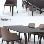 تحميل موديلات  230 Table & chair- طاولة-وكرسي poliform Concorde   Grace