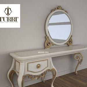 تحميل موديلات  293 Table & chair- طاولة-وكرسي Turri Baroque TC153L