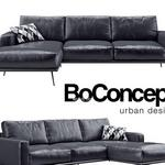 141 Boconcept كنب Boconcept  Carlton black