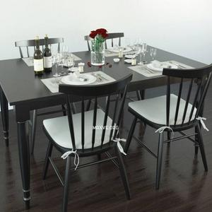 تحميل موديلات  296 Table & chair- طاولة-وكرسي Wolcott dining