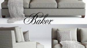 144 Baker كنب Baker Loose Back  by Barbara Barry