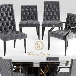 تحميل موديلات  297 Table & chair- طاولة-وكرسي ViHoria Frigerio