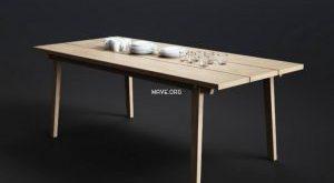 تحميل موديلات  298 Table & chair- طاولة-وكرسي Normann Copenhagen Slice