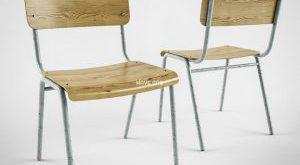 تحميل موديلات  657 school Chair كرسي