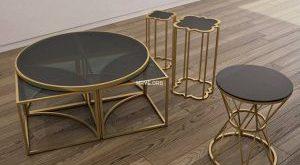 تحميل موديلات  299 Table & chair- طاولة-وكرسي EICHHOLTZ