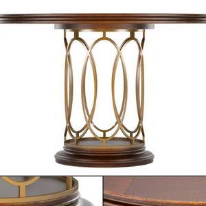 تحميل موديلات  302 Table & chair- طاولة-وكرسي Avalon Heights Neo Deco Pedestal