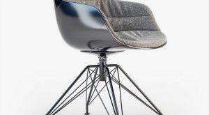 تحميل موديلات  662 Flow Slim Padded LEM base Chair كرسي