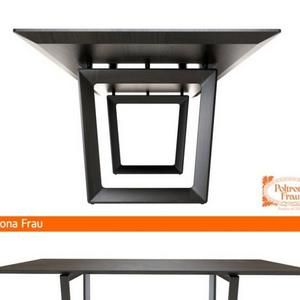 تحميل موديلات  232 Table & chair- طاولة-وكرسي Poltrona Frau BOLERO