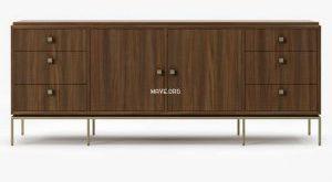 تحميل موديلات  219 خزانة-ذات-أدراج Mitchel Gold Bob Williams vandyke drawer door chest