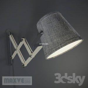 تحميل موديلات  102 مصابيح الحائط