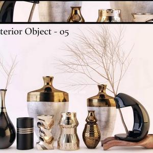تحميل موديلات  269 Decorative set طقم ديكور