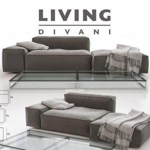 161 Divanci كنب Living Divani NeoWall  03