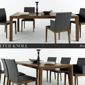 تحميل موديلات  307 Table & chair- طاولة-وكرسي walter knoll andoo chear