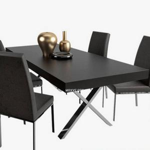 تحميل موديلات  308 Table & chair- طاولة-وكرسي AXEL BESS