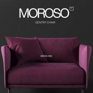162 Moroso كنب Gentry chair by Moroso