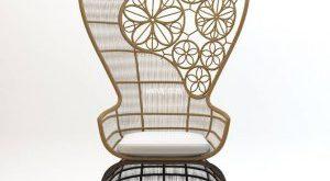 تحميل موديلات  500 Crinoline_Patricia_Urquiola Chair كرسي
