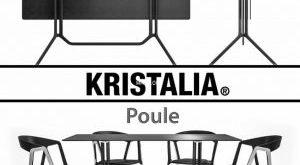 تحميل موديلات  314 Table & chair- طاولة-وكرسي Kristalia Poule and Compas