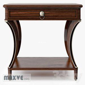 تحميل موديلات  232 خزانة-ذات-أدراج Baker Lamp tables 2961