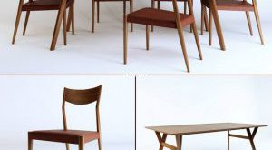 تحميل موديلات  316 Table & chair- طاولة-وكرسي