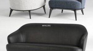 198 تحميل موديلات كنب Minotti Leslie chair and