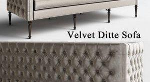 212 تحميل موديلات كنب Velvet Ditte