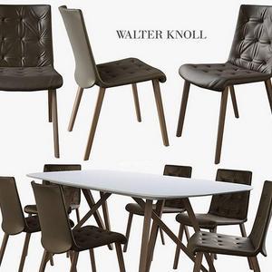 تحميل موديلات  324 Table & chair- طاولة-وكرسي Walter Knoll Liz wood