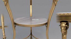 تحميل موديلات  329 Table & chair- طاولة-وكرسي BdA Belier