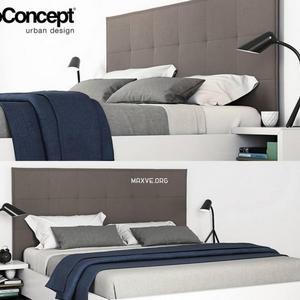 تحميل موديلات  291 Boconcept Lugano سرير bed