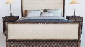 تحميل موديلات  295 Louis XVI Treillage سرير bed