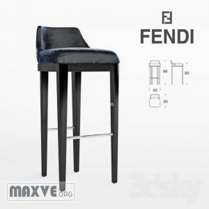 تحميل موديلات  725 Bristol bar stool Chair كرسي