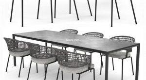 تحميل موديلات  336 Table & chair- طاولة-وكرسي Contour Arm
