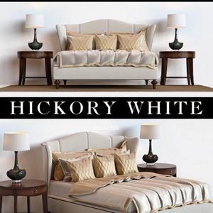 تحميل موديلات  298 Hickoty white سرير bed