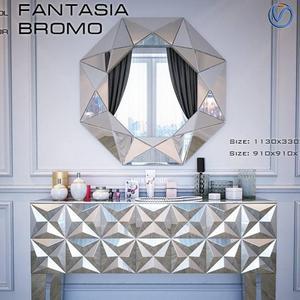تحميل موديلات  241 خزانة-ذات-أدراج Consol Fantasia
