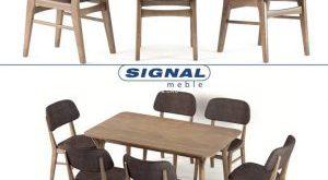 تحميل موديلات  342 Table & chair- طاولة-وكرسي Signal Stol Sty