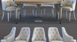 تحميل موديلات  344 Table & chair- طاولة-وكرسي Verona