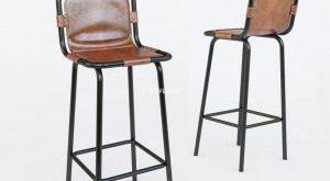 تحميل موديلات  739 FACTORY_BAR_STOOL_WITH LEATHER_SEAT_model Chair كرسي