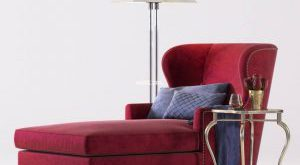 تحميل موديلات  347 Table & chair- طاولة-وكرسي bernhardt Nadine Chaise corona 2013