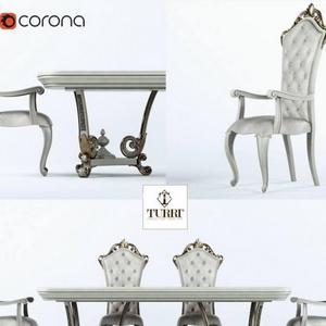تحميل موديلات  350 Table & chair- طاولة-وكرسي