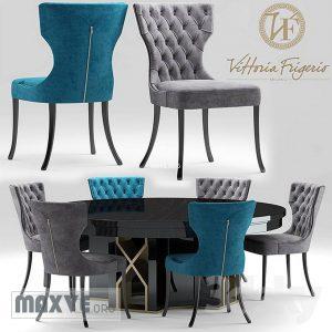 تحميل موديلات  352 Table & chair- طاولة-وكرسي