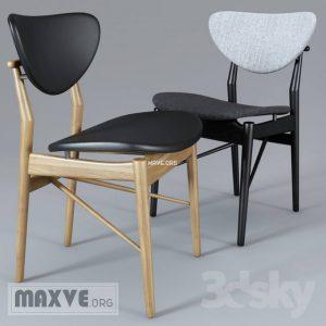 تحميل موديلات  751 Finn_Juhl_108_Dining_Chair كرسي