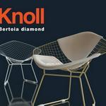 تحميل موديلات  756 Knoll_Bertoia_Diamond_Lounge_Adult Chair كرسي