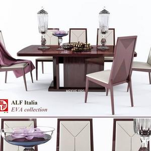 تحميل موديلات  361 Table & chair- طاولة-وكرسي Alf italia EVA