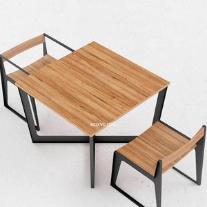 تحميل موديلات  362 Table & chair- طاولة-وكرسي ODESD2