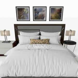 تحميل موديلات  336 Hotel سرير bedding سرير bed