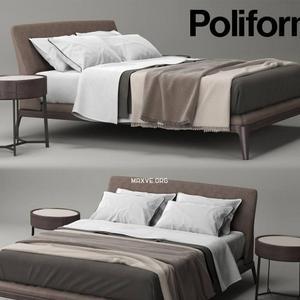 تحميل موديلات  339 Poliform Kelly سرير bed