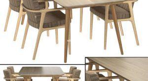 تحميل موديلات  367 Table & chair- طاولة-وكرسي Zio Dining