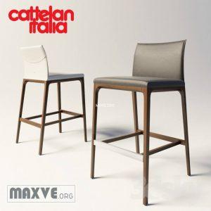 تحميل موديلات  763 Cattelan_Italia_Arcadia_bar Chair كرسي