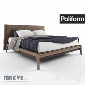 تحميل موديلات  349 poliform ipanema سرير bed